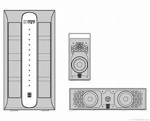 Yamaha Nx-p301 - Manual - Surround Loudspeaker System