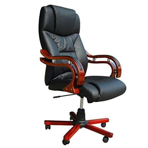 bonace fauteuil de bureau en cuir m 233 lang 233 noir et 233 l 233 ments