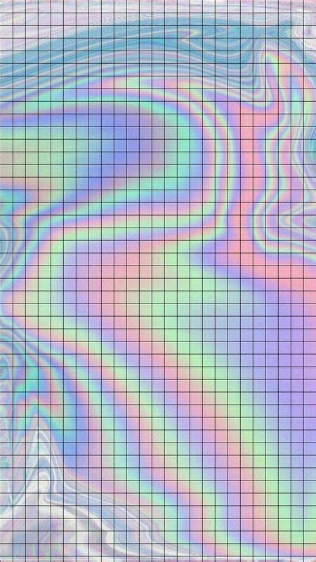 surreal aesthetic holographic wallpapers iphone