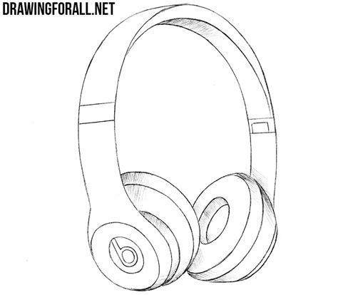 How To Draw Beats Headphones Drawingforallnet