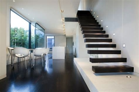 green livingroom 101 modern stairs appear as an eye catcher in your home