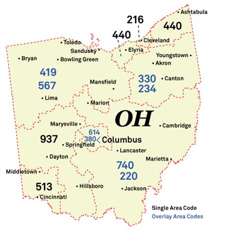 Map Cleveland Ohio Area Zip Code
