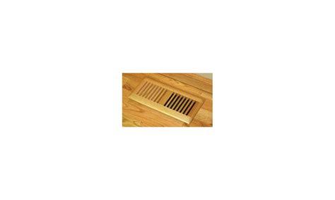 4x10 Wood Floor Registers by Grillworks Trimline In 4x10 Ro Oak 4 Quot X 10 Quot Wood Floor
