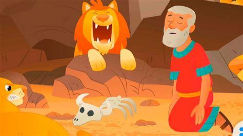 la biblia  ninos en espanol  rescate rugiente daniel  el foso de los leones parte