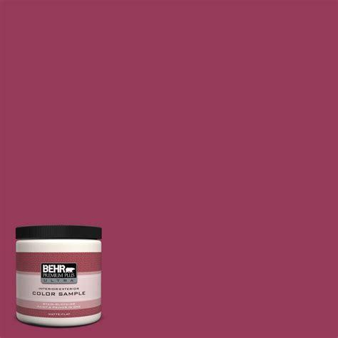 behr premium plus ultra 8 oz 110b 7 raspberry pudding