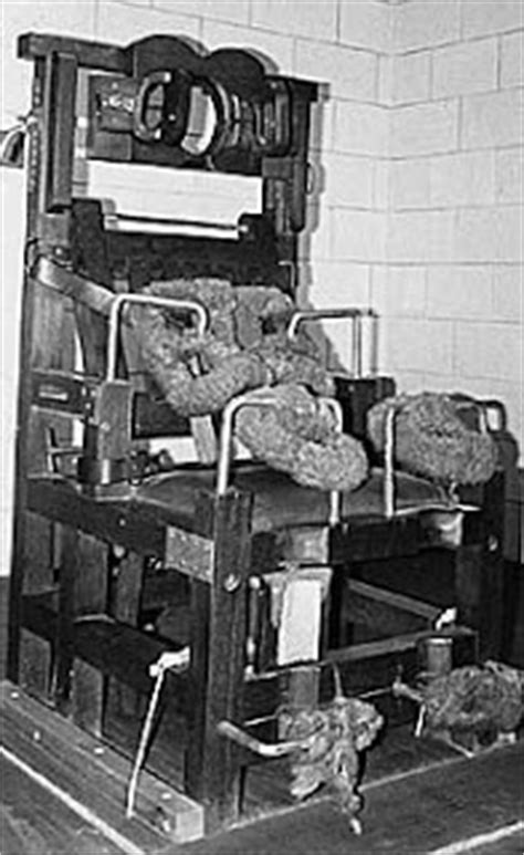 Electric Chair Executions Illinois by The Seventh Sola November 2008