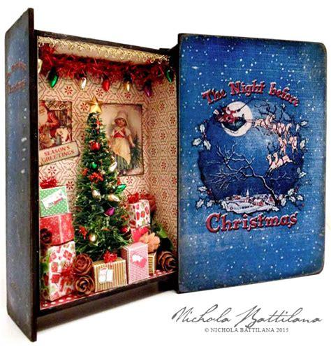 pixie hill twas  night  christmas book box
