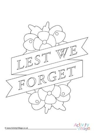 remembrance day colouring pages  images poppy