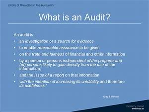 Objectives Of Company Auditing Assurance Introduction To Course презентация