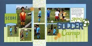 Love soccer layouts
