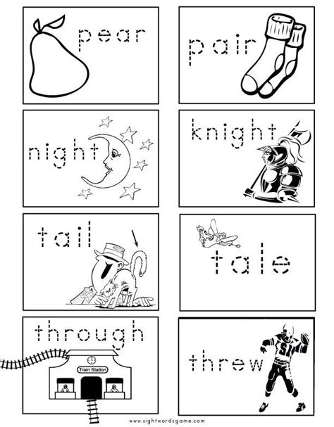 images  homophones  pinterest sight word