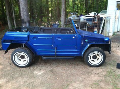 Sell Used Two Volkswagen Type 181 Vw Things 1974 And A