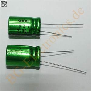 Schaltkreise Berechnen : 20 x 2200 f 2200uf 6 3v 105 c rm5 elko kondensator capacitor rad shoei 20pcs ebay ~ Themetempest.com Abrechnung