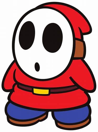 Shy Guy Svg Vector Mario Resolution Super