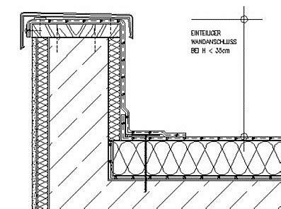 flachdach ohne attika attika flachdach glossar baunetz wissen
