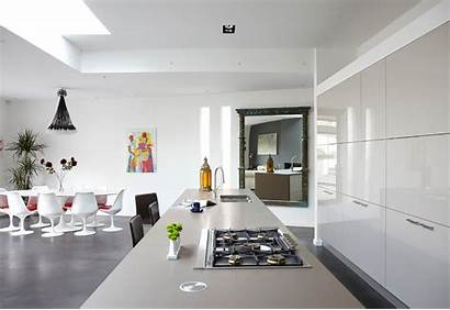 Modern Cabinets Eclectic Tour Kitchen Kitchens Living
