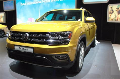 2018 Volkswagen Teramont Revealed At Dubai Motor Show