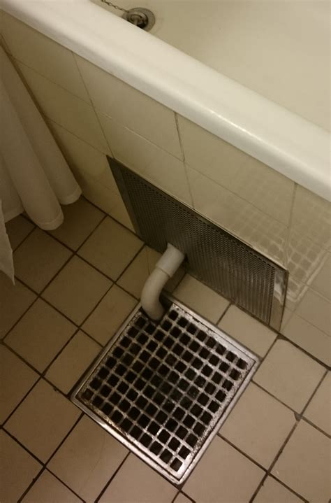 bathroom ideas  hide pipe  bathtub  drain