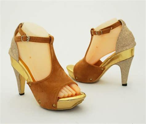 sepatu heels mewah glitter keren fashionable warna