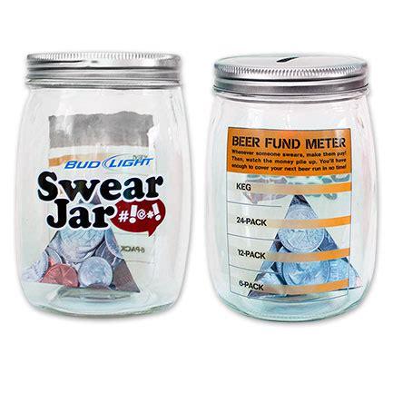 bud light swear jar bud light glass piggy bank swear jar