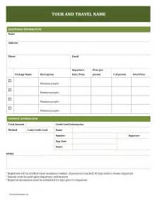 free resume templates free tour and travel booking form freewordtemplates net