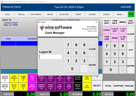 cash manager operaters guide