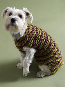 Top 5 Free Dog Sweater Knitting Patterns | LoveKnitting Blog