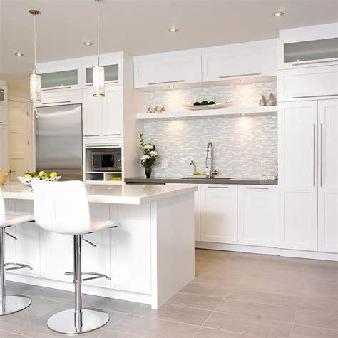 cuisines blanches cuisines beauregard cuisine réalisation 242 cuisine