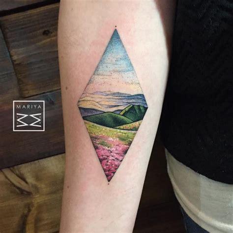 Geometric 3/4 Sleeve Tattoo