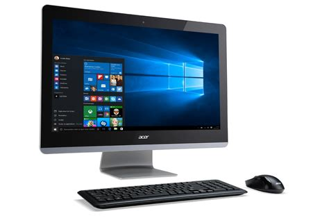 pc de bureau acer pc de bureau acer aspire z3 715 001 4248724 darty
