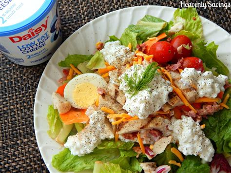 healthy cottage cheese healthy salad dressing replacement recipe with