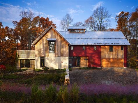 barn houses for sustainable modern rustic barn house in pennsylvania