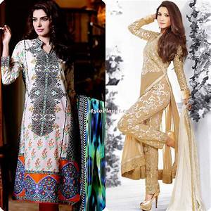 Latest Straight Pants Suits Collection 2016'17 | Stylo Planet