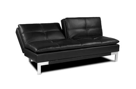 Brenem Convertible Sofa Black By Serta Lifestyle