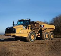 Cat Articulated Dump Truck