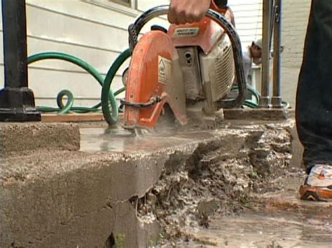 how to repair concrete steps how tos diy
