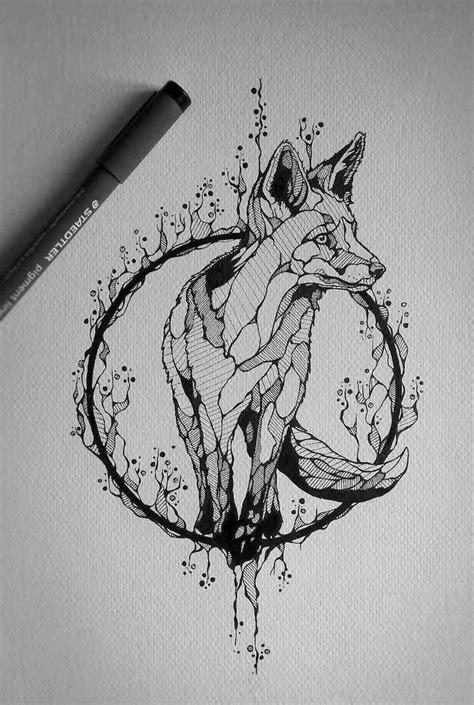 signification tatouage loup