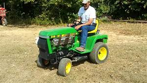 John Deere 318 With 5 7 Chevy 350 Part 2