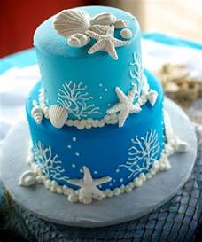 Under The Sea Decoration by Best 25 Beach Wedding Cakes Ideas Only On Pinterest