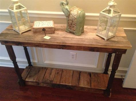 rustic wood entry table rustic foyer entry table reclaimed repurposed
