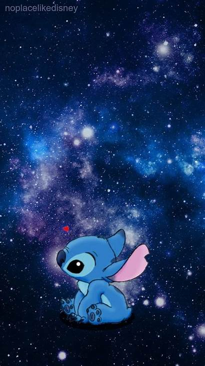 Stitch Galaxy Disney Screen Iphone Wallpapers Background