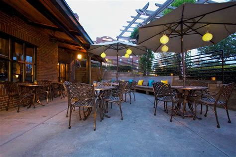 outdoor patio dining hospitality design of paschals