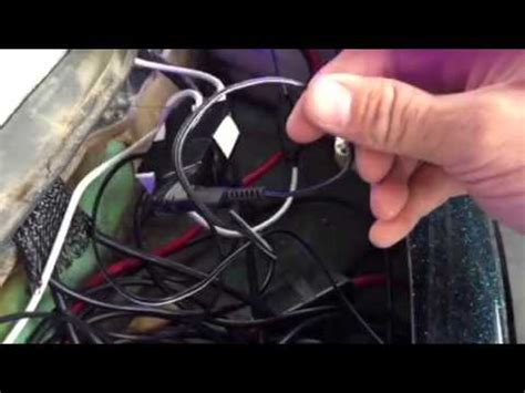 wiring led strips lighting ranger bass boat youtube
