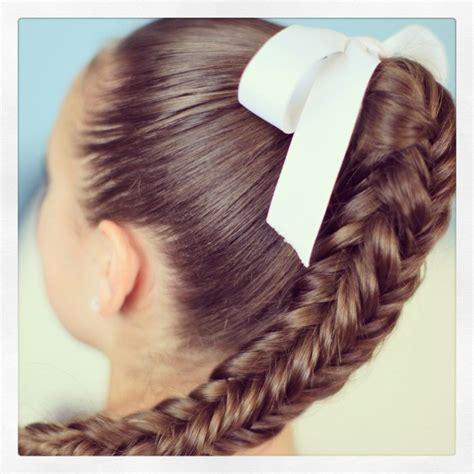 box 4 sided fishtail braid cute girls hairstyles