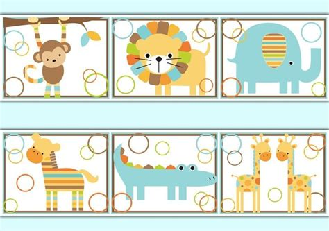 jungle wallpaper border decals baby boy nursery kids room