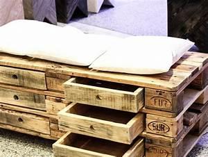 Paletten Bank Bauen : ihr neues wochenendprojekt palettensofa selber bauen ~ Buech-reservation.com Haus und Dekorationen