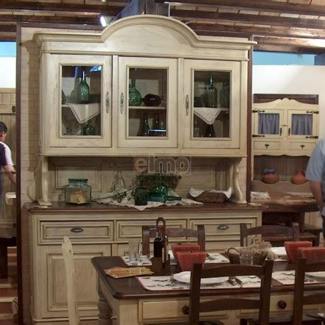 buffet vaisselier de cuisine 2 corps bois et laque anna2