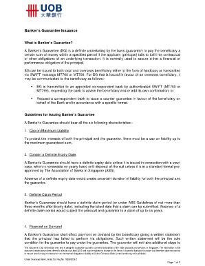 printable standard formate bank guarantee templates