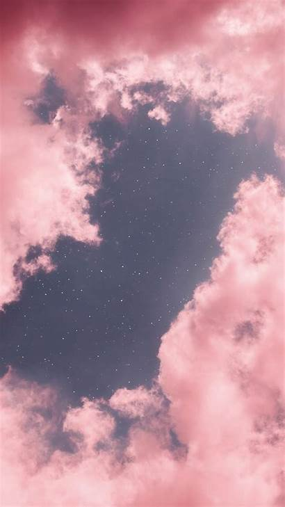 Aesthetic Pink Clouds Background Wallpapers Cloud Iphone