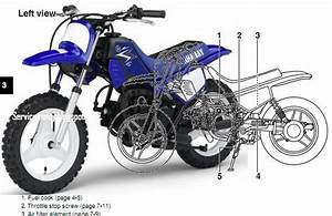 Top Motorcycle  The Pw50 Yamaha Owners Manual Download
